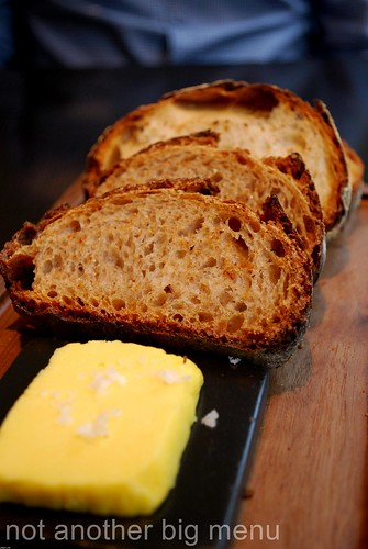 Dinner by Heston - Bread and salted butter