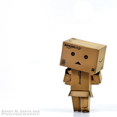 153/365:  I Walk.  Therefore I Am. (Randy Santa-Ana) Tags: toys walk danbo danboard 365daysofdanbo danbopose
