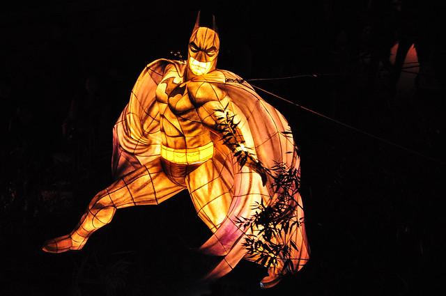 Batman at the Seoul Lantern Festival