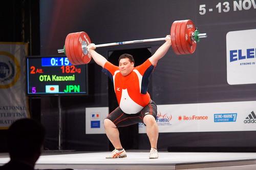 男子+105kg級 太田和臣選手の写真