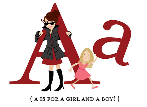 A is for A Girl and a Boy