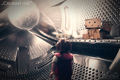 Carousel ride (Oliver Totzke) Tags: 2 canon toy mark days ii 5d 365 usm ef danbo 2035mm f3545 2035 revoltech danboard 5dmk2 5dmark2