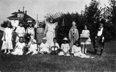 Play performed by Dunbar Heights United [Church children] at the Wilson House at 25th and Balaclava [Street]