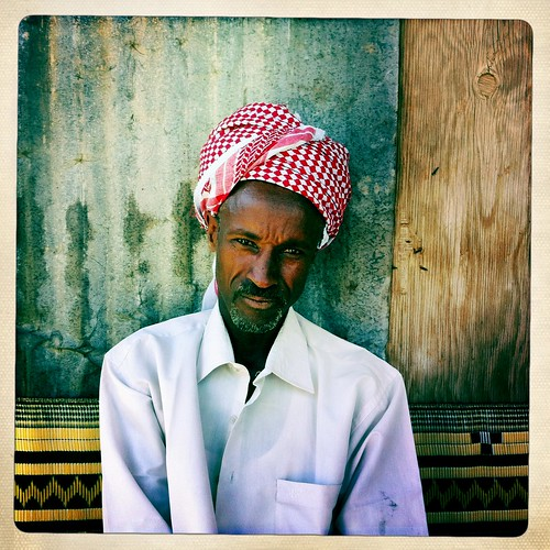 Waiting for qat Somaliland  thru Iphone Hipstamatic