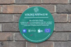 Photo of Green plaque number 8097