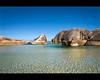 Water for Elephants... (Chantal Steyn) Tags: ocean blue sea seascape water landscape denmark bay coast sand nikon rocks australia william lagoon clear boulders wa transparent polarizer scape westernaustralia turqoise elephantrocks d300 nohdr williambay 1685mm
