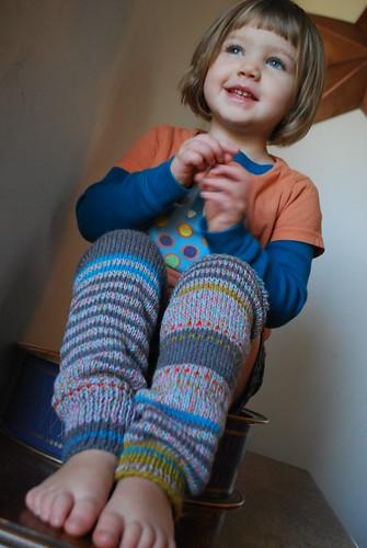 New leg warmers