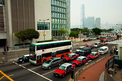 Hong Kong city (filchist) Tags: cars hongkong asia taxi thecity icc urbanasia