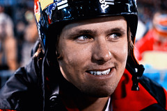 Jon Olsson (Robin Dahling) Tags: winter portrait man face robin canon photography 50mm eyes jon sweden stockholm teeth helmet pro 18 jam skier olsson dahling 600d