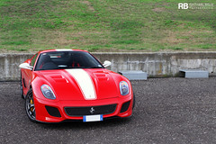 Ferrari 599 GTO (Raphaël Belly Photography) Tags: red cars car del racetrack rouge photography eos photographie corse ferrari belly exotic 7d passion gran gto raphael turismo rb autodromo supercars clienti raphaël mugello finali 599 2011 mondiali omologato f599 worldcars egarage egaragecom