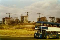 Garscadden Road 1969 (Michelle O'Connell Photography) Tags: history construction glasgow memories nostalgia alexander midland sons drumchapel garscaddenroad linkwoodflats drumchapelflats drumchapellifesofar projectorphotos drumchapel1969 davidholgatephotography