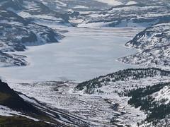 Selvatn (hó) Tags: trees winter lake snow nature landscape march frozen iceland 2012 borgarfjörður bifröst hreðavatn selvatn