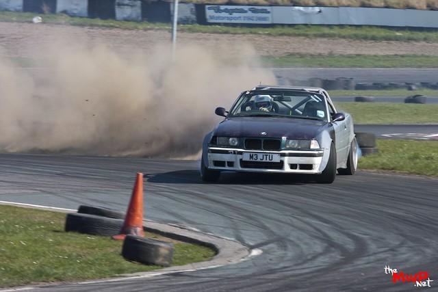 Kyle Chisholm Drifting his Chizcab BMW M3 Cabriolet