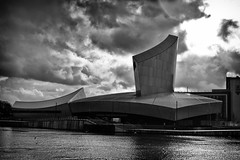 279|365 The Imperial War Museum North (IWMN); Daniel Libeskind (PeterChinnock) Tags: white black lines museum architecture project manchester war day daniel north imperial 365 libeskind salford quays 279 deconstructivist peterchinnock