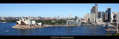 Sydney Panorama (Sil Parng Yull) Tags: panorama water canon sydney circularquay sydneyharbour royalbotanicgardens sydneyoperahouse canonef24105mmf4lisusm canoneos7d