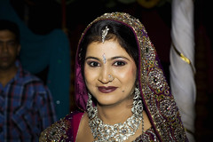 The Bride (Chesil) Tags: travel wedding woman india beautiful bride marriage be wife ornate hindu chesil
