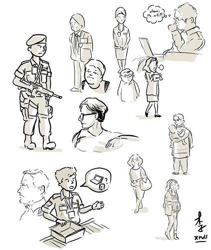 HKIA Doodles