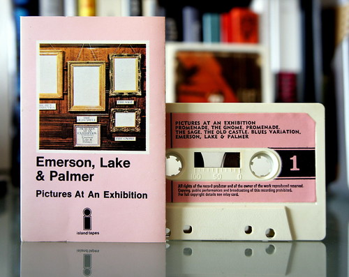 emerson, lake & palmer : pictures at an exhibition (tape) by japanese forms