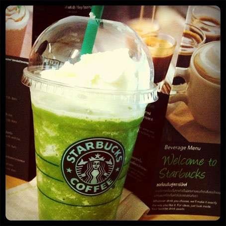 Starbucks Soy Green Tea Cream Frappuccino - CertifiedFoodies.com
