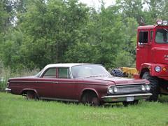 64  Dodge Custom 880 (DVS1mn) Tags: cars car minnesota four 64 dodge mopar mn sixty nineteen 1964 wpc walterpchrysler nineteensixtyfour chryslercorporation
