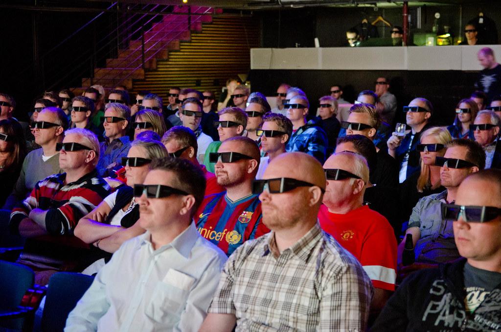 Världens största 3D LED-TV