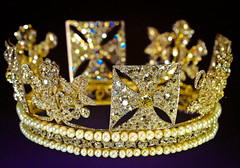 The Royal Diamond Diadem Crown 1820 at The Queen's Gallery Buckingham Palace London England (mbell1975) Tags: uk england london art museum gallery royal palace musee queen diamond queens gb crown residence buckingham residenz the diadem 1820
