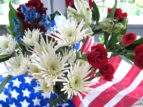 July 4th Flowers!