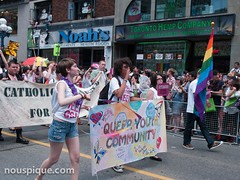 queer youth parade