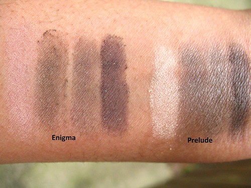 Swatches compared