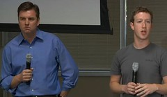 Marck Zuckerberg y Tony Bates