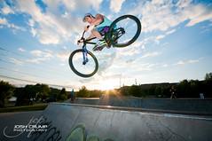 Chad - Spine [27/52] (CrumpJ) Tags: mountain ontario canada guy bike nikon dj chad skatepark whip sudbury spine jumps 250 norco actionsports sigma1020mm d90 strobist