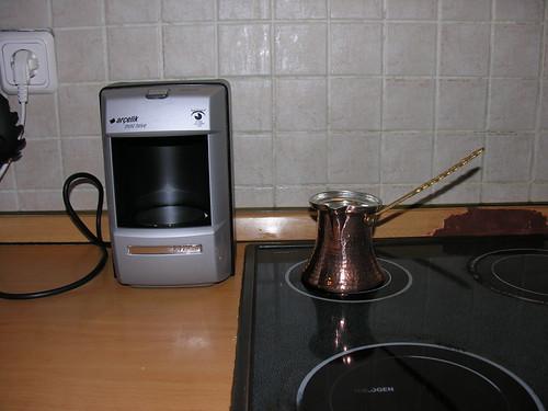 A régi és az új kávémasina