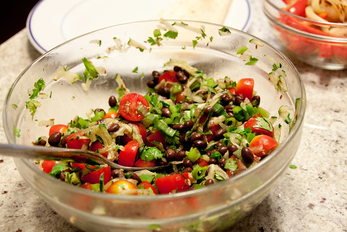 Spicy Black Bean Salad