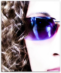 When I am an old woman I shall wear purple... (montreal_bunny) Tags: me glass sunglasses canon october purple shades odc g12 ortoneffect ourdailychallenge 2011yip 3652011 canonpowershotg12