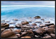 Asteroidea (PatrickJamesPhoto) Tags: ocean california longexposure sea sky beach nature water rock fog clouds flow coast rocks long exposure outdoor shoreline lososos shore montanadeoro morrobay centralcoast slo sanluisobispo mdo montaadeoro pentaxk10d