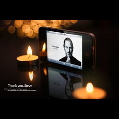 Thank you, Steve (Waseef Akhtar) Tags: inspiration apple glass macintosh dead death lights october candles technology phone tech bokeh rip pray memories screen electronics future stevejobs tribute lit concept revolutionary brand futuristic iphone 2011 rio78
