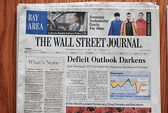 Ejemplar del Wall Street Journal