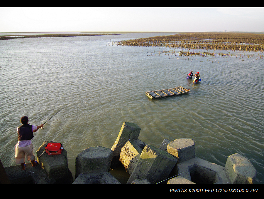 晨昏習拍 - [新竹] 海山漁港 & 三峰