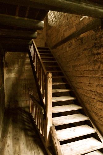 .....古老的樓梯.....