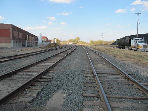 Train Tracks near the Port of Minneapolis