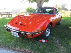Opel GT - 1972 (MR38) Tags: red german gt 1972 opel ocar worldcars