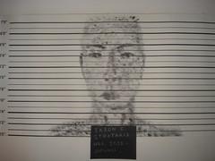 DSC05753 (IasonEmmanuel) Tags: school white black art face fingerprints made criminal crime angry mugshot backround iason