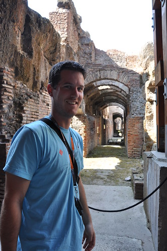 Rob in the Colosseum Underground