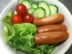 朝食サラダ(2011/10/12)