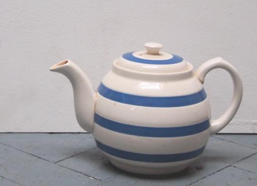 stripy teapot
