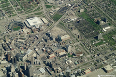 Downtown Detroit (Pictometry International Corp.) Tags: city downtown maps detroit aerial oblique imagery pictometry