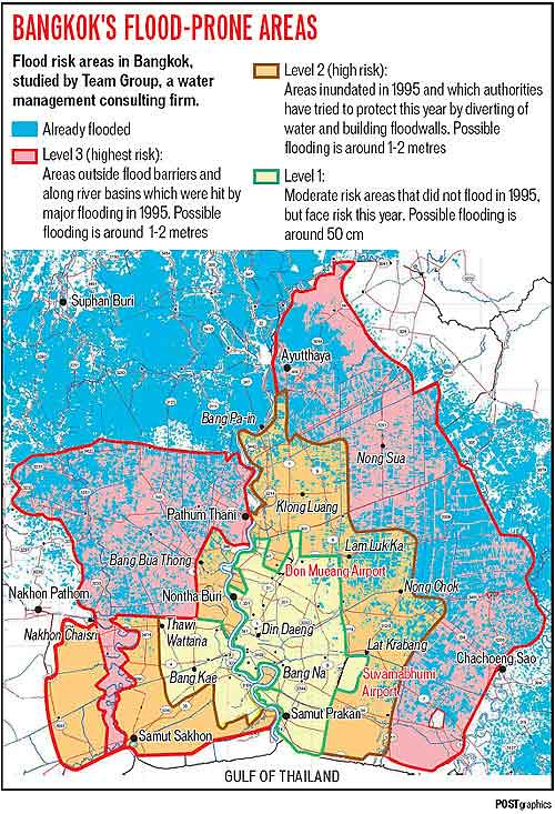 BANGKOK FLOOD MAP
