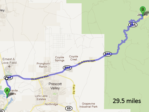 Prescott-to-Jerome