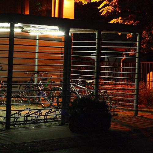 T-Com bike storage cage