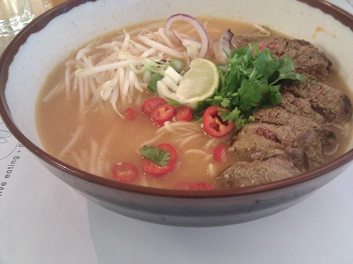 Londres | Wagamama | Beef Chilli Ramen